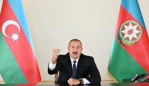 رئیسجمهور آزربایجان: اجازه پایمال شدن خون شهدایمان را نخواهیم داد