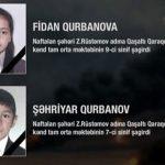 در اثر حمله ارتش اشغالگر ارمنستان به مناطق مسکونی دو کودک آزربایجانی شهید شدند
