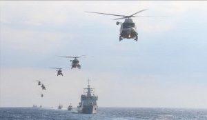 ترکیه و جمهوری ترک قبرس شمالی رزمایش مشترک برگزار میکنند