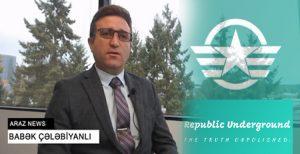 """مصاحبه سخنگوی """"دیرنیش"""" با سایت """"ریپابلیک آندرگراند"""" در رابطه با تجمعات حمایت از قاراباغ در..."""