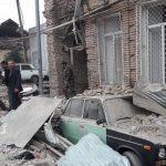 حملات ارمنستان اشغالگر به مناطق مسکونی گنجه یک کشته و ۴ زخمی به جا گذاشت