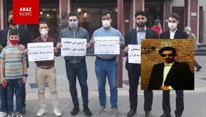 ابراهیم گنجی سردبیر و مدیر مسئول نشریه «یاغیش» دستگیر شد