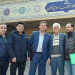 بهنام شیخی و حمید منافی با پایان مرخصی به زندان اوین بازگشتند
