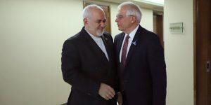 گفتگوی ظریف با نماینده اتحادیه اروپا در رابطه با ترور فخری زاده