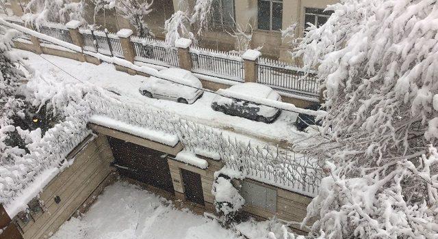 سراب با دمای ۳۰ درجه زیر صفر سردترین شهر کشور