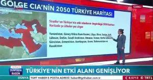 واکنش روسها به نقشه حوزه نفوذ ترکیه در سال ۲۰۵۰ از سوی یک مرکز تحقیقاتی...