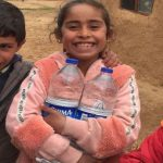 سربازان ترکیه لبخند را به لب کودکان سوریه آوردند
