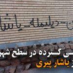 دیوارنویسی گسترده در سطح شهر تبریز در حمایت از یاشار پیری