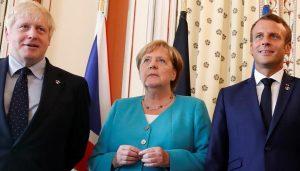 اخطار به ایران از سوی انگلیس، فرانسه و آلمان