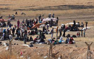 مرکز دیده بان حقوق بشر سوریه: پ ی د باعث کوچ تورکمانان و عرب ها...