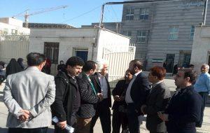 عدم برگزاری دادگاه هشت تن از فعالین ملی مدنی شهرستان بهارستان استان تهران