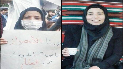 بازداشت زکیه نیسى، فعال ملی و محیط زیست اهوازى
