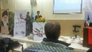 سخنرانی در حمایت از مرتضی مرادپور در دانشگاه اورمیه