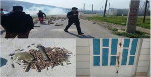 درگیری شدید میان مردم عرب باغ ملک با سپاه پاسداران (تصاویر)