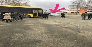 زیر گرفته شدن دختر دانشجو توسط سرویس دانشگاه اورمیه