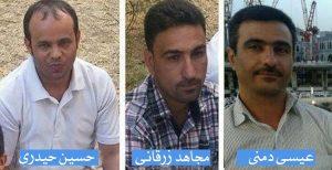 احکام زندان و تبعید علیه ۳ فعال عرب الاحوازی به دلیل فعالیت هاى فرهنگى و...