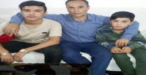 دیدار حبیب ساسانیان با فرزندانش بعد از ماهها دور