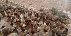 درگیری تروریستهای دموکرات با نیروهای نظامی ایران در بانه