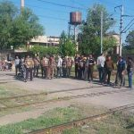 اعتصاب دوباره کارگران راه آهن تبریز