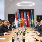 دفتر شورای کشورهای تورک در بوداپست مجارستان افتتاح شد