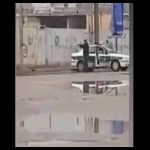 یک مامور پلیس در شادگان خلع سلاح و کشته شد + ویدئو