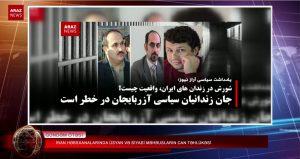 ایران حبسخانالاریندا عصیان و سیاسی محبوسلارین جان تهلوکهسی