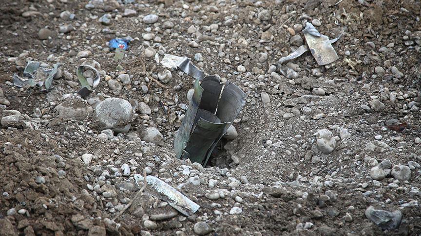حمله راکتی ارتش اشغالگر ارمنستان به نخجوان