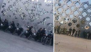 مسیرهای منتهی به میدان امام حسین در محاصره ماموران امنیتی و انتظامی