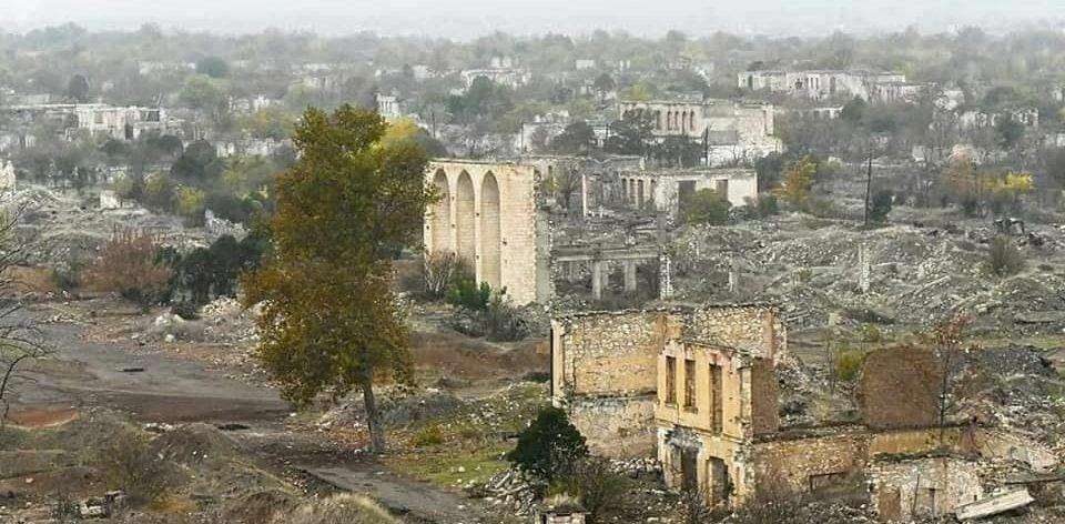 ارمنی ها آغدام را به خرابهای بزرگ تبدیل کردهاند – تصاویر