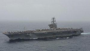 ناو هواپیمابر نیمیتز آمریکا به خلیج منتقل میشود