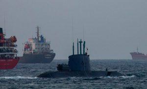 زیردریایی اسرائیل در راه خلیج