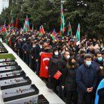 تجمع شادی برای آزادسازی لاچین در باکو پایتخت آزربایجان [شمالی]