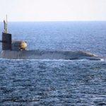 آمریکا از ورود زیردریایی خود به خلیج خبر داد