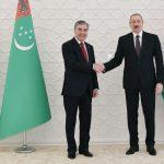 امضا توافقنامه همکاری توسعه مشترک میدان نفتی در دریای خزر توسط آذربایجان و ترکمنستان