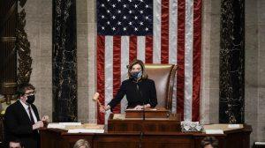 رای دوباره مجلس نمایندگان برای استیضاح دونالد ترامپ رئیس جمهور آمریکا