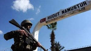 ایراندان تورکیهیه سیزماغا چالیشان تروریست یاخالاندی