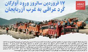 روز «ورود آوارگان کرد عراقی به خاک آزربایجان»