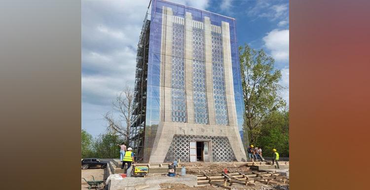 کار در شوشا برای مرمت مجموعه موزه-آرامگاه ملا پناه واقیف به سرعت پیش می رود