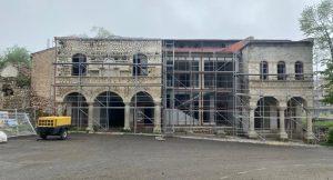 مرمت بناهای تاریخی شهر شوشا توسط دولت آزربایجان با سرعت انجام میشود