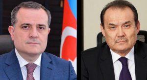 گفتگوی تلفنی بین وزیر امور خارجه آزربایجان و دبیرکل شورای ترک