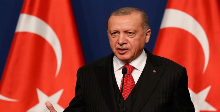 تورکیه جومهورباشقانی اردوغان آمئریکایا گئدهجک
