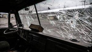 حمله گروههای مسلح ارمنی به کاروان متعلق به آزربایجان در قاراباغ